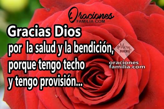 Oración de acción de gracias, buenos días, inicio de la mañana con corta oración de bendiciones y gracias por Mery Bracho.