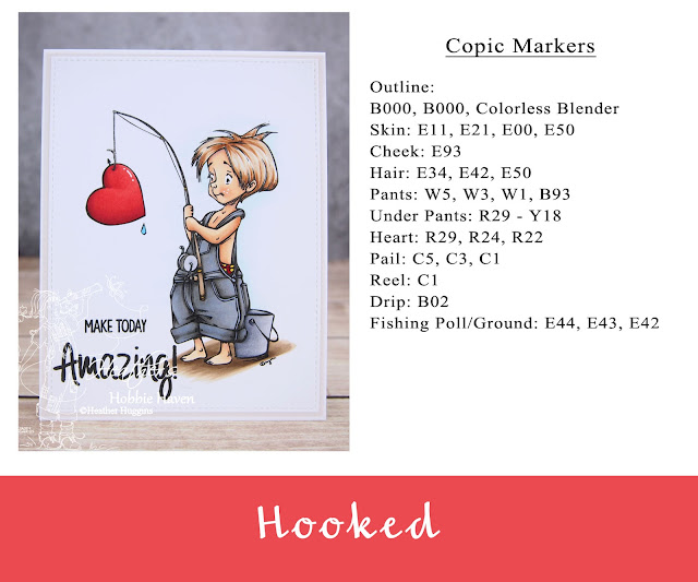 Heather's Hobbie Haven - Color Wednesday - Hooked