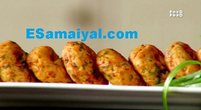 சிக்கன் வடை செய்வது | Chicken Vadai !