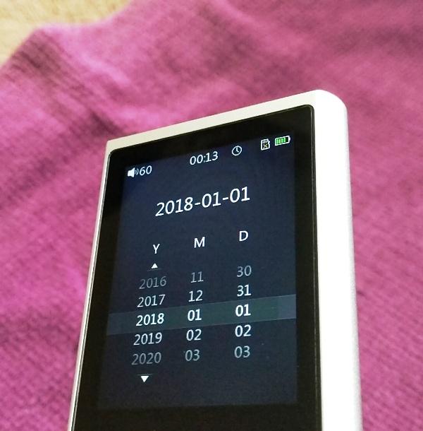 FiiO M3K Hi-Res Digital Audio Player Fully Laminated Display