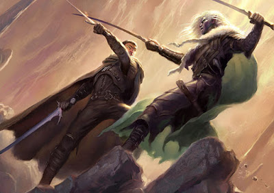 Artemis Entreri vs Drizzt Do'Urden