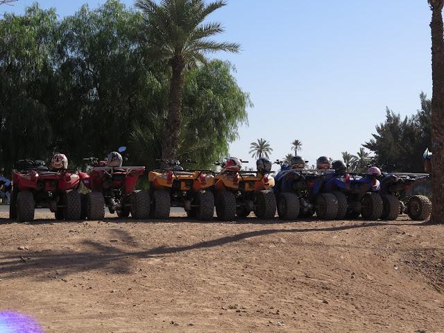 Quads de alquiler en el Palmeral de Marrakech