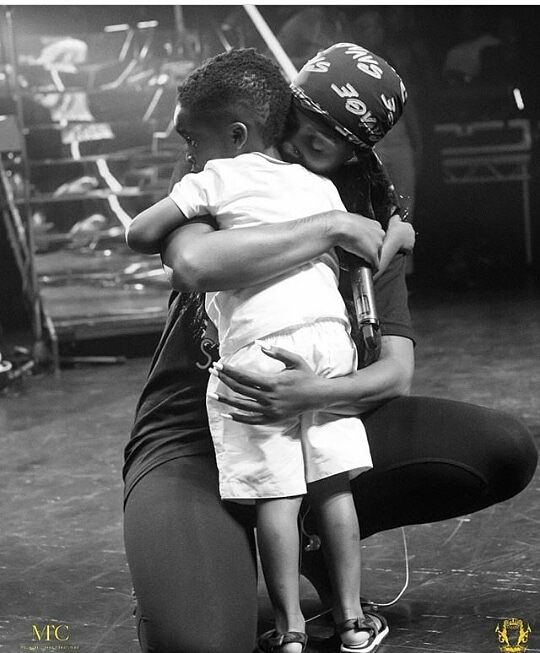 I'll Die For You-Tiwa Savage Tells Son