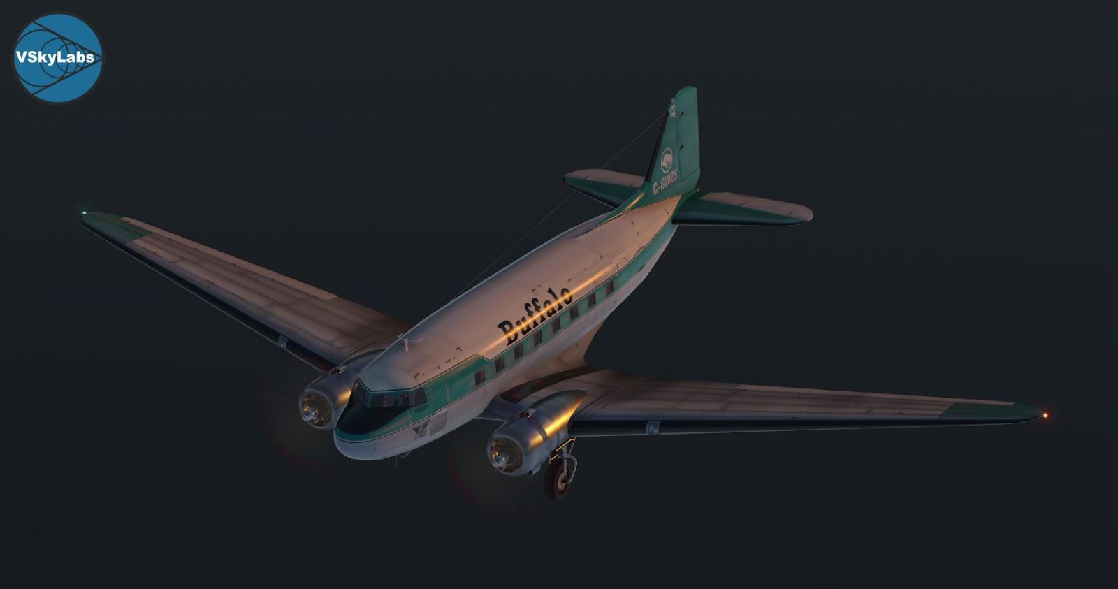 The VSKYLABS DC-3/C-47 Flying Lab Project