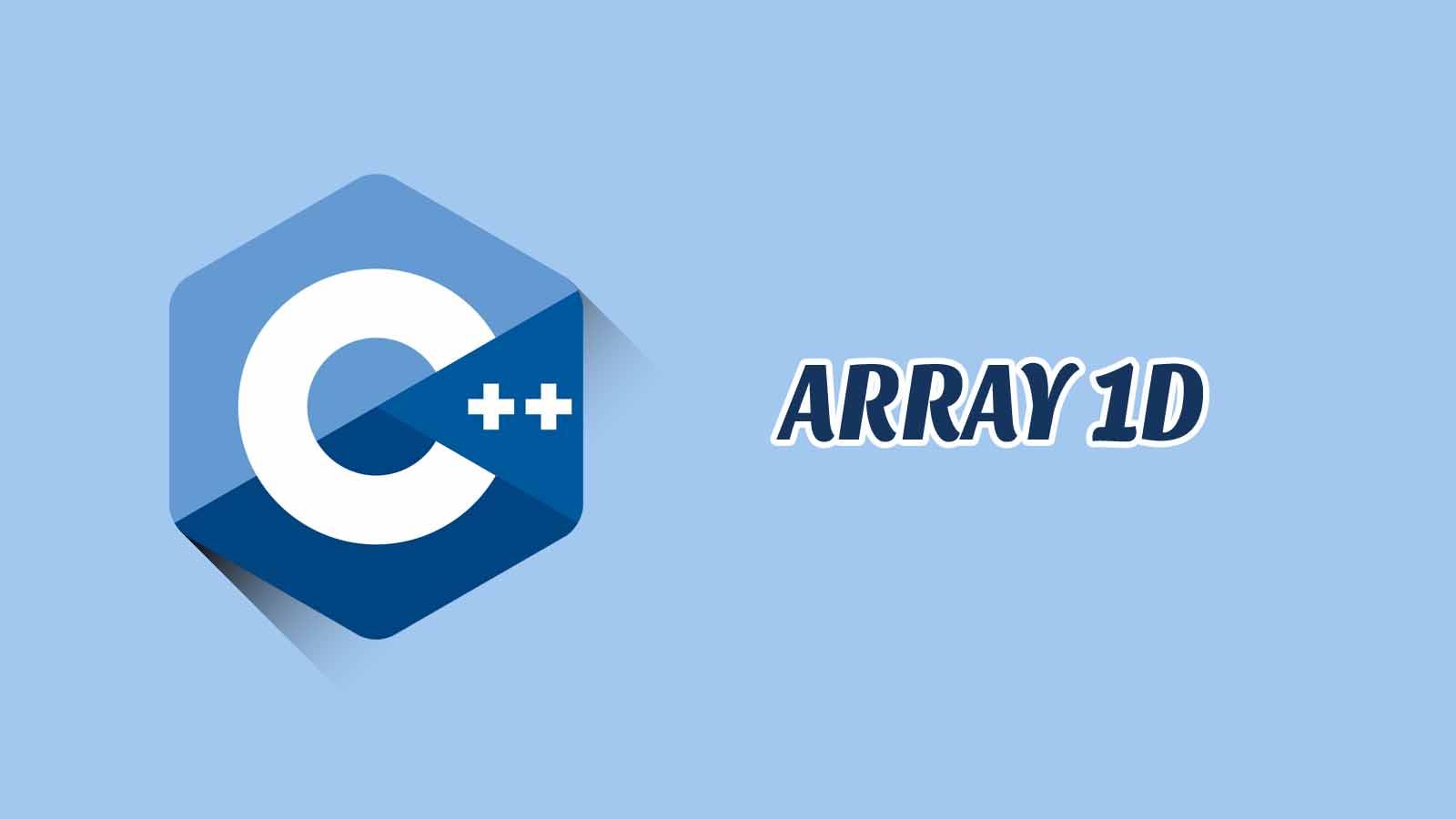 Array 1 Dimensi Disertai Contoh, Tugas dan jawaban