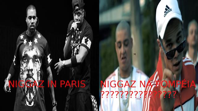 """Quem falou que branco que curte rap pode usar ou se denominar """"Ni**a""""..?"""