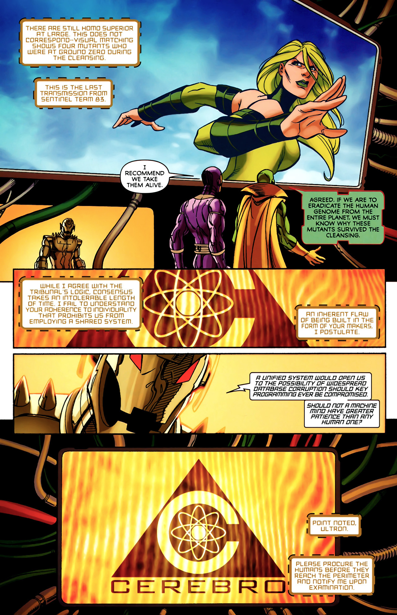 Read online Exiles (2009) comic -  Issue #4 - 10