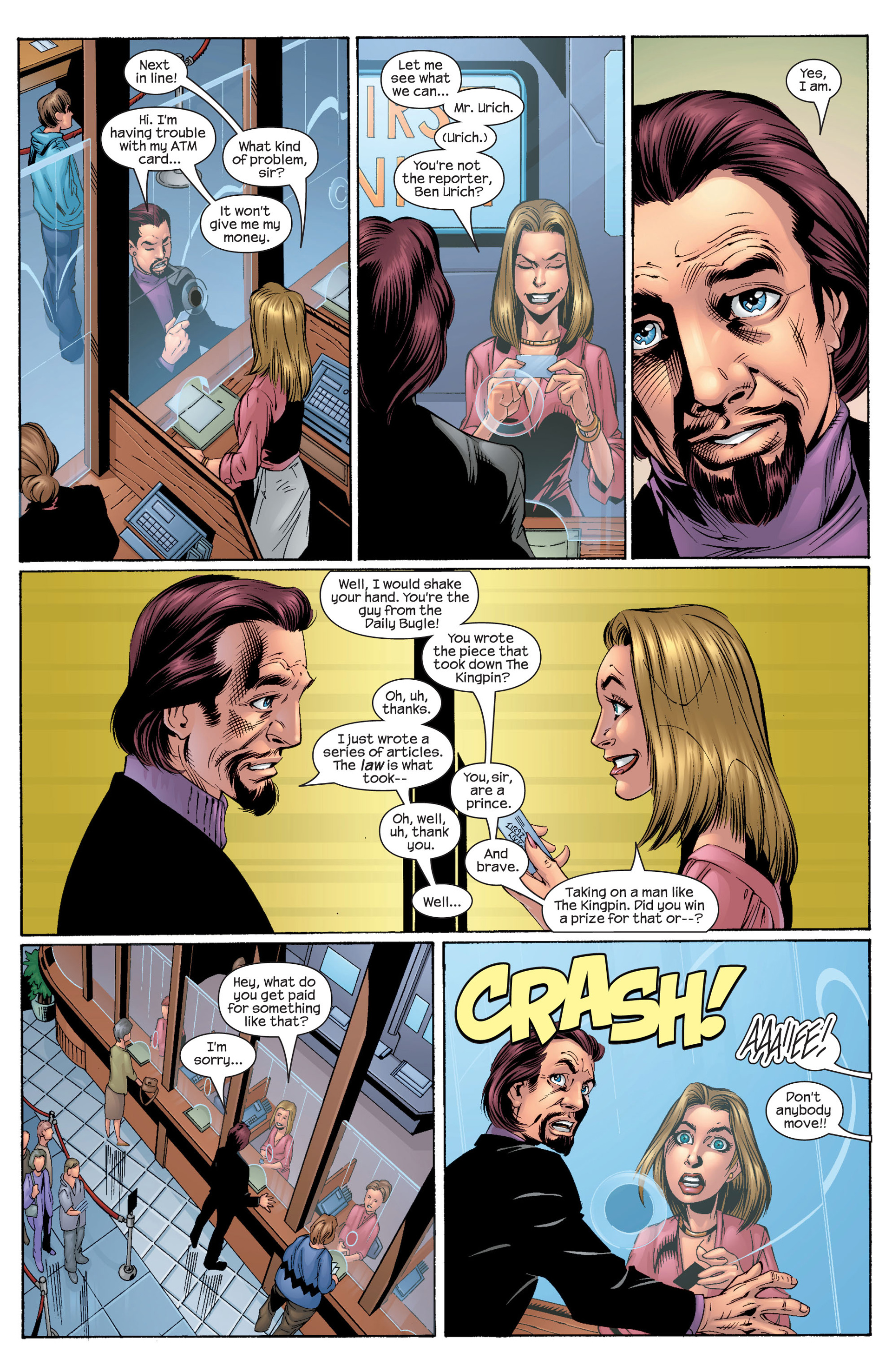 Read online Ultimate Spider-Man (2000) comic -  Issue #29 - 2