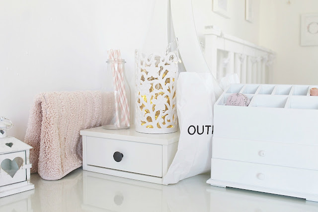 Pretty girly IKEA shabby chic home decor haul, what I bought