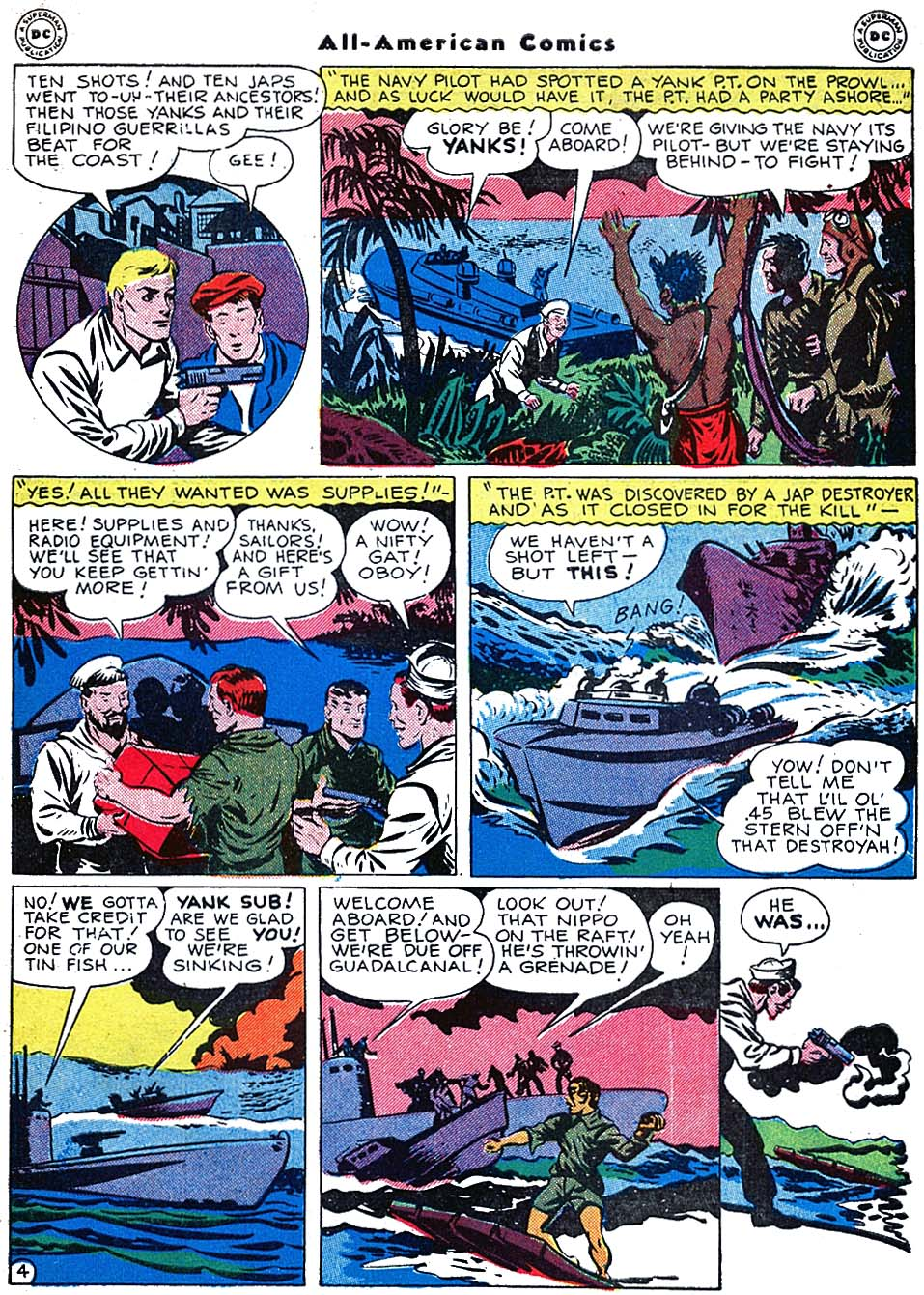 Read online All-American Comics (1939) comic -  Issue #72 - 45