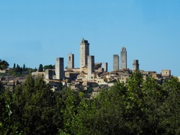 Rascacielos en la Toscana