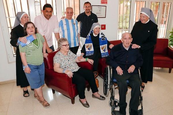 Málaga, la Fundación MCF visita a las Hermanitas de los Pobres