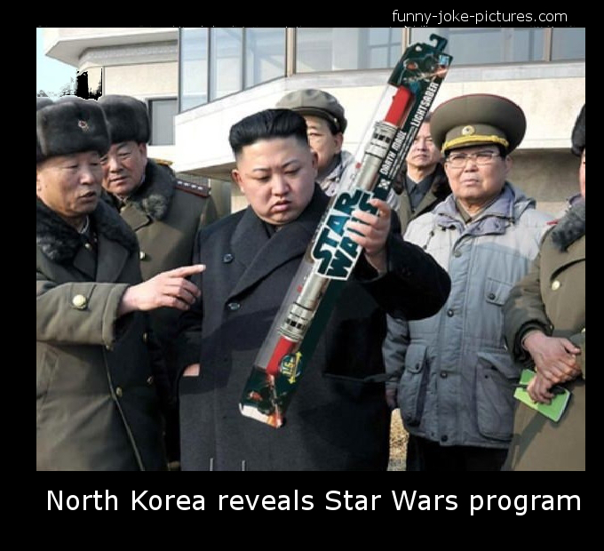 north korea kim jong un funny joke meme photo star wars