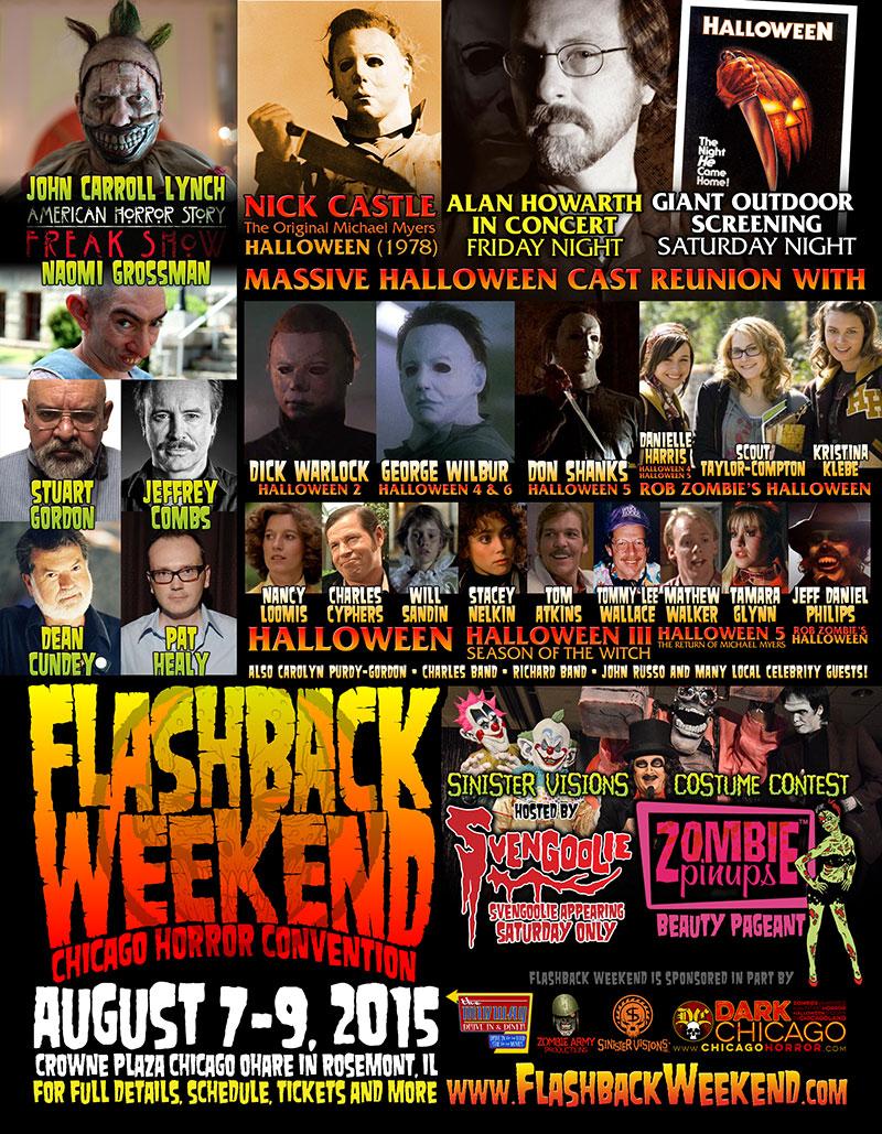 Halloween' Screening With Cast Highlights Flashback Weekend 2015 ...