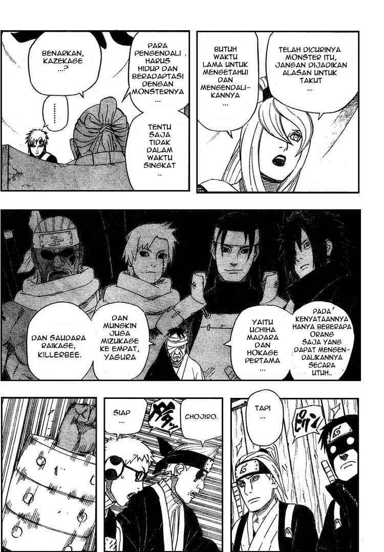 03 Naruto 458   Pendapat Lima Kage