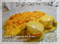 http://gourmandesansgluten.blogspot.fr/2016/12/noix-de-st-jacques-au-lait-de-coco-et.html