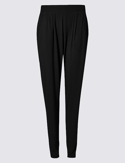 Marks and Spencer Jersey Tapered Joggers