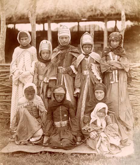 ногайки в хиджабе