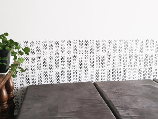 stencil, stencil na parede, stencil decor, faça você mesmo, diy, a casa eh sua, diy decor, home decor, decoracao