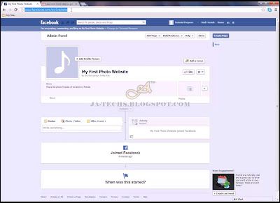 Creating Facebook Fan Page - Step 10