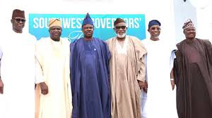 South-West governors nigeria