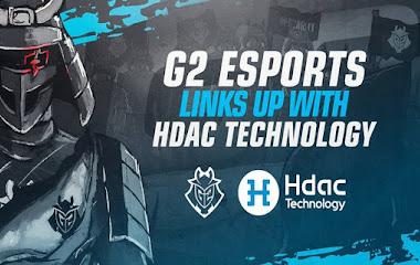 G2 Esports nhận hợp đồng tài trợ từ Hdac Technology
