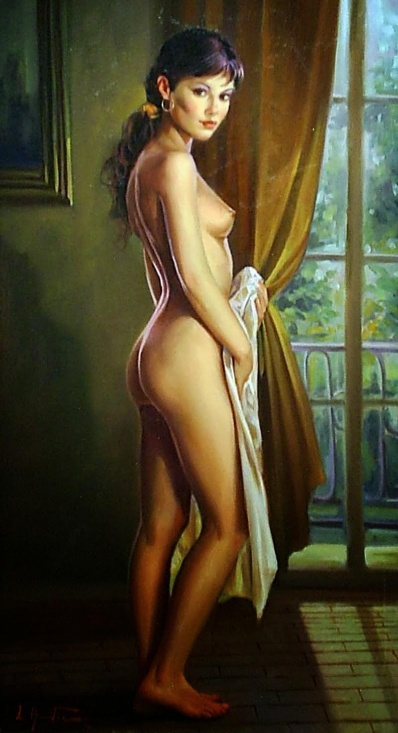 Lucio Amitrano e suas pinturas magníficas