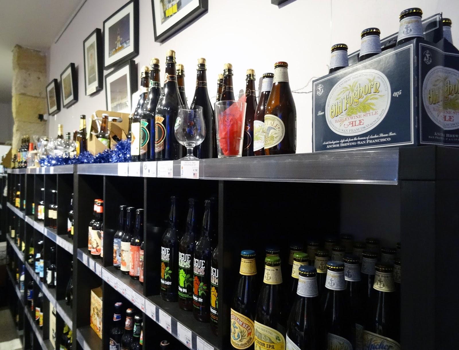 bordeaux beer shop la cave a bi re artisanale tukibomp blog de bons plans sur bordeaux et. Black Bedroom Furniture Sets. Home Design Ideas