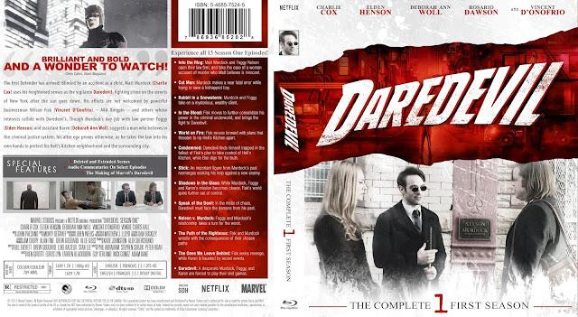 Daredevil Season 1 Bluray Cover