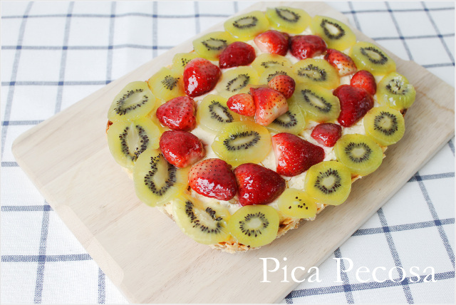 tutorial-tarta-queso-kiwi-fresas