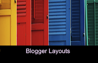 Blogger Layout Week 9: Picture Window #3