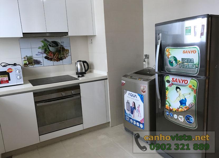 The Vista Quận 2 cần bán nhanh căn hộ 101m2 - thiết bị bếp