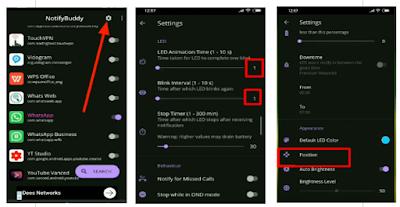 Cara Agar Notifikasi Lampu Led Warna Warni di Hp Android