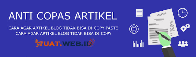 Anti Copy Paste Untuk Blogspot Dan WordPress