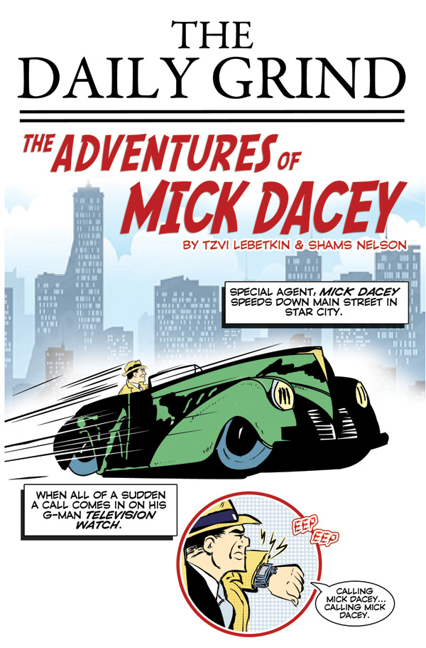 The Adventures Of Mick Dacey