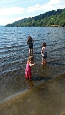 Paddling in Bala Lake