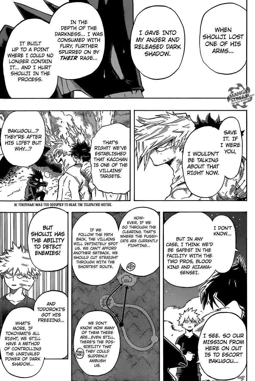 Boku no Hero Academia - Chapter 91