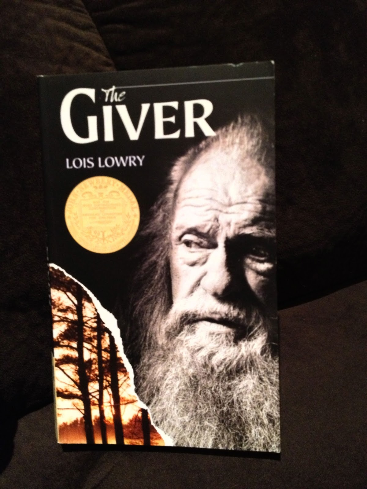 Just A Small Town Girl The Giver A Brief Review