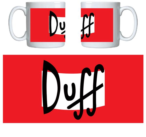 Caneca criativa Duff
