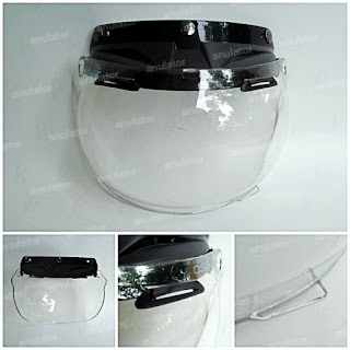 Bubble visor / Mika bubble OSBE Visor Type GP-TECH bening/bogo