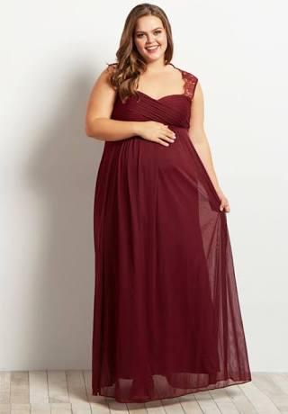 a6de91ff9c5e Sensuous Maternity Prom Bridesmaid Gowns Pregnant Women | A Lovable ...