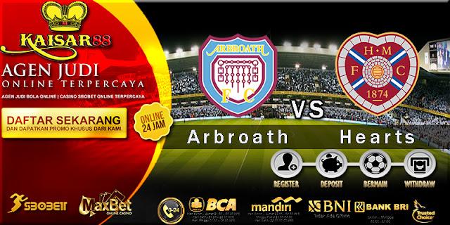 Prediksi Bola Jitu Arbroath vs Hearts 4 Juli 2018