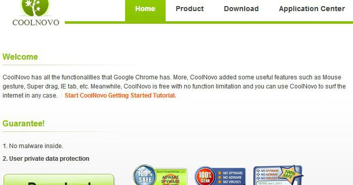 New Updated Version Of Coolnovo Browser ~ Shazan Zahid: My Web World