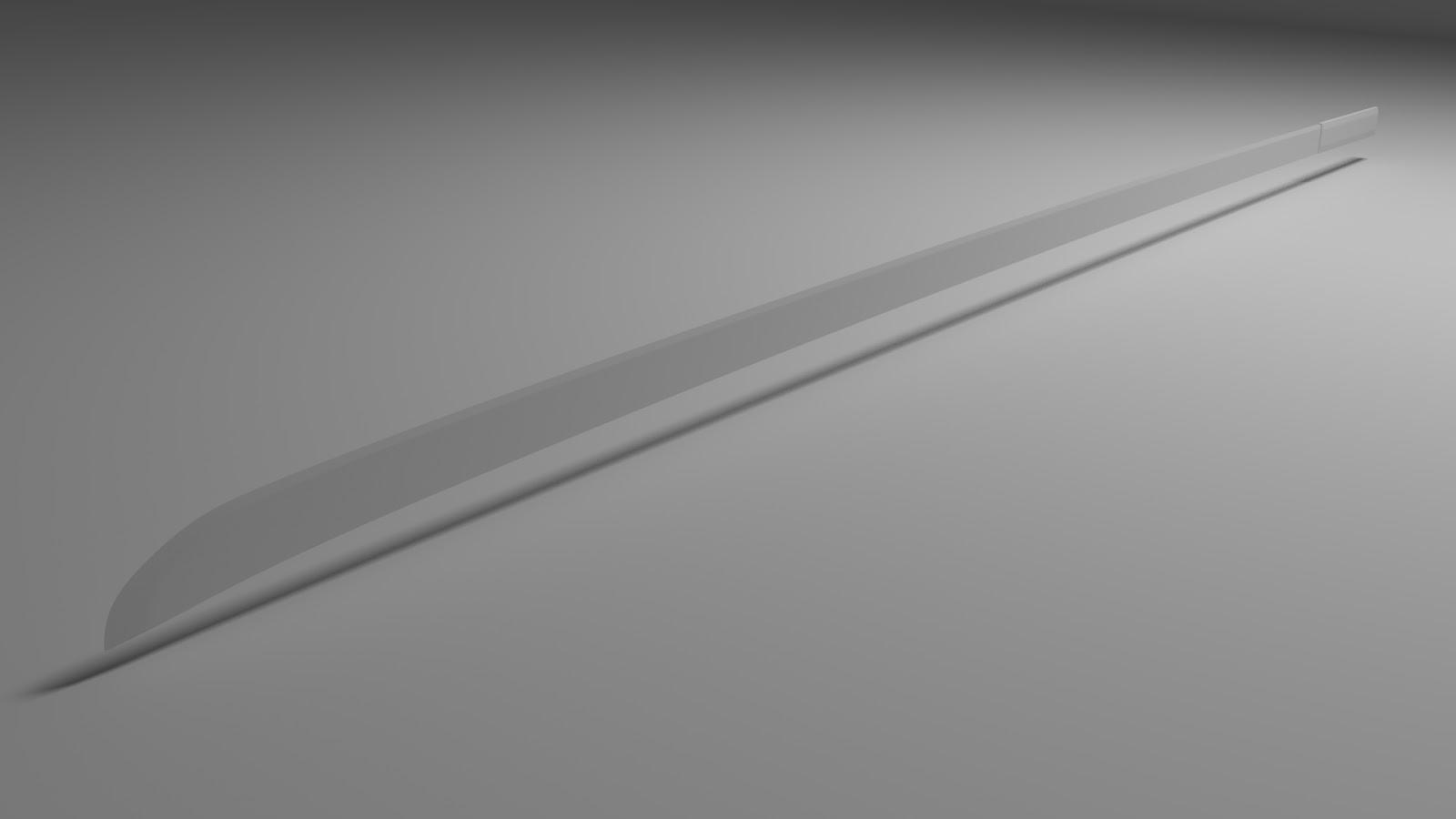Free 3D Samurai .blend file