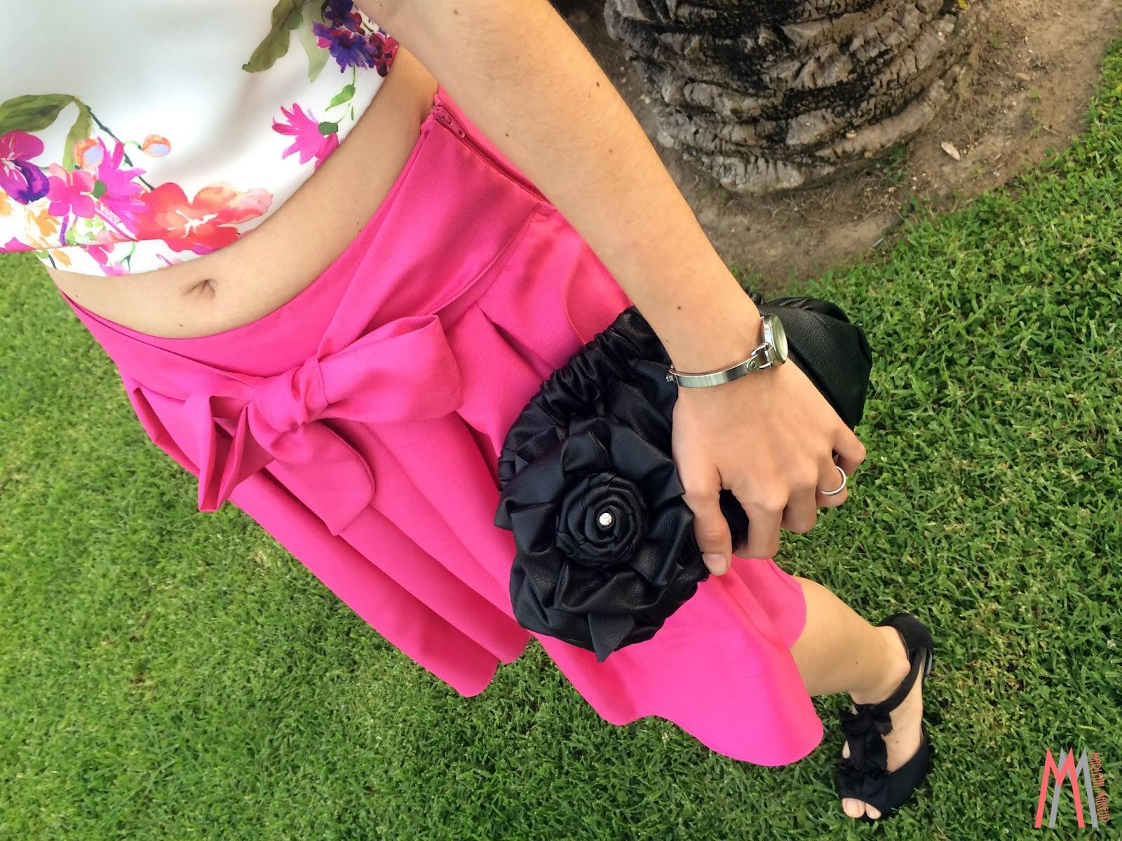 Outfit de boda: Fuchsia & Flowers   Marleah Make Up   Bloglovin\'