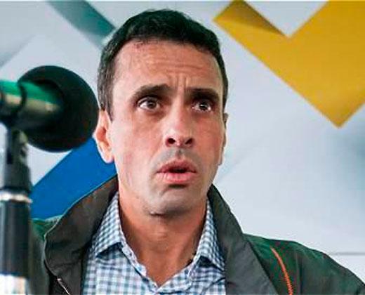 El reproche de Capriles a las rectoras del CNE