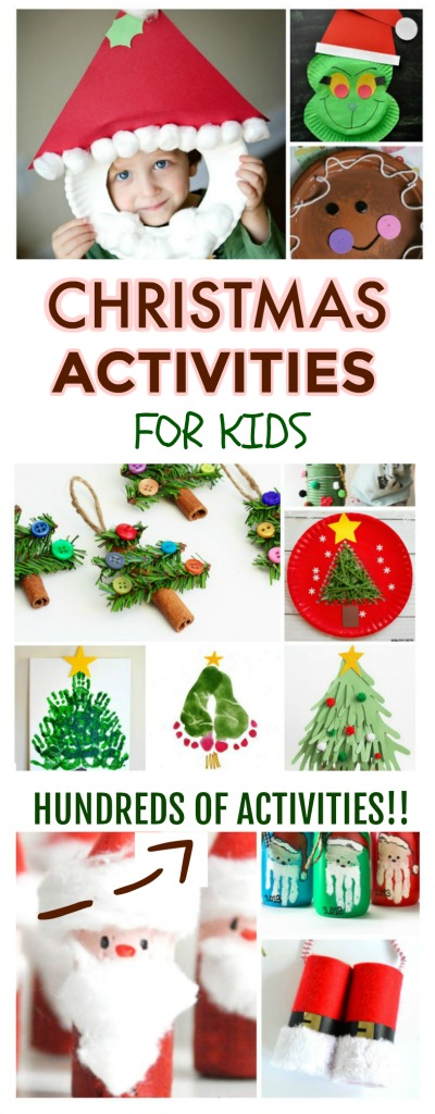 THE ULTIMATE HOLIDAY RESOURCE!  Featuring hundreds of Christmas crafts & activities for kids (art, science, fun traditions, play recipes, & more!) #Christmascraftsforkids #Christmasactivitiesforkids