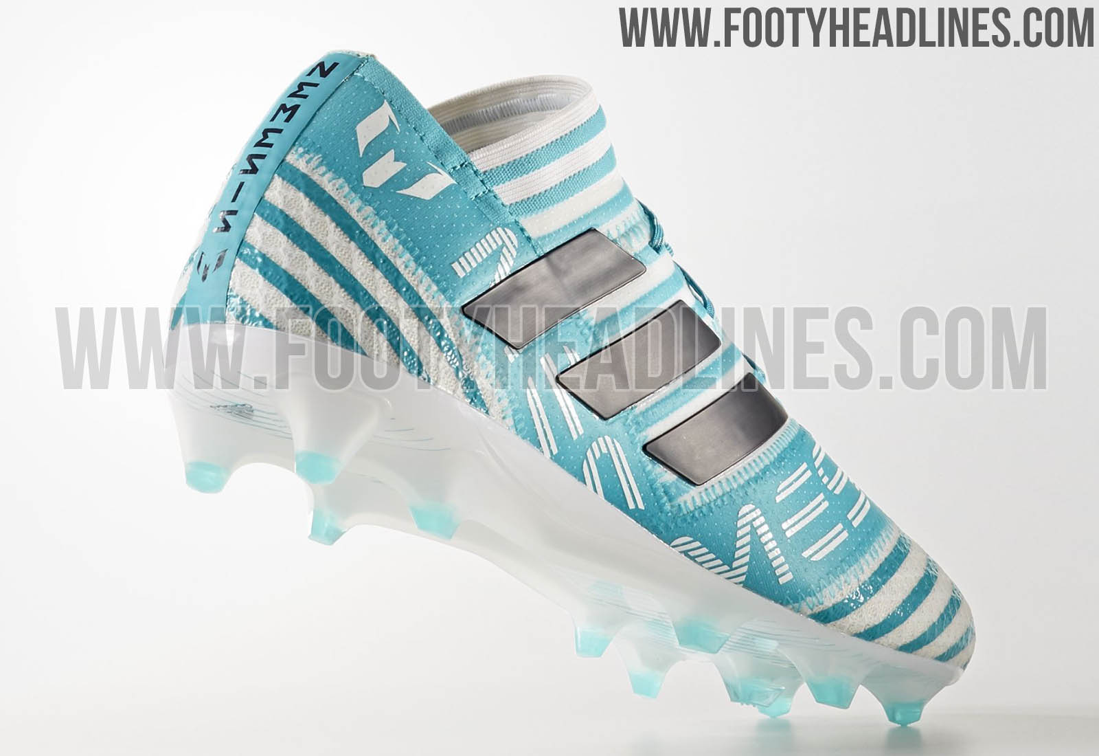 e127505bc263 Adidas Nemeziz Messi Ocean Storm 2017-18 Boots Leaked - Leaked Soccer Cleats