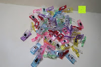 Erfahrungsbericht: GWHOLE Stoffklammern Wonder Clips Nähen Zubehöre Kunststoff 60 Stück 6 Farben