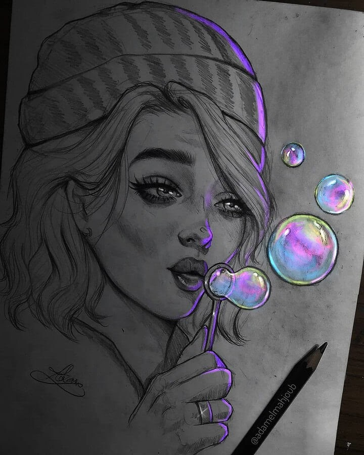 08-Blowing-bubbles-Drawings-Adam-Almahjoub-www-designstack-co